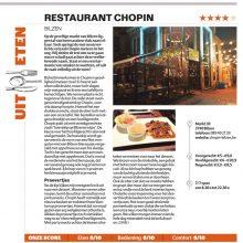 Restorecensie:Chopin Bilzen HLN