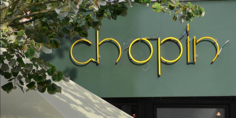 Menukaart Chopin